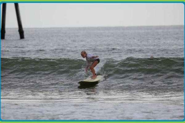 Surfing in Jacksonville Beach